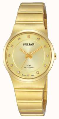 Pulsar Womens Gold PVD Plated PH8170X1