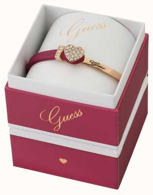 Guess Colour Chic Rose Gold And Pink Leather UBS91311