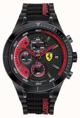 Scuderia Ferrari Mens Red Rev Evo, Black/ Red 0830260