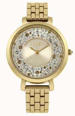 Lipsy Womens Gold PVD Plated LP397