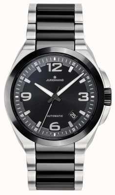Junghans Spektrum | Automatic | Black/Silver Ceramic Steel Bracelet 027/1500.44