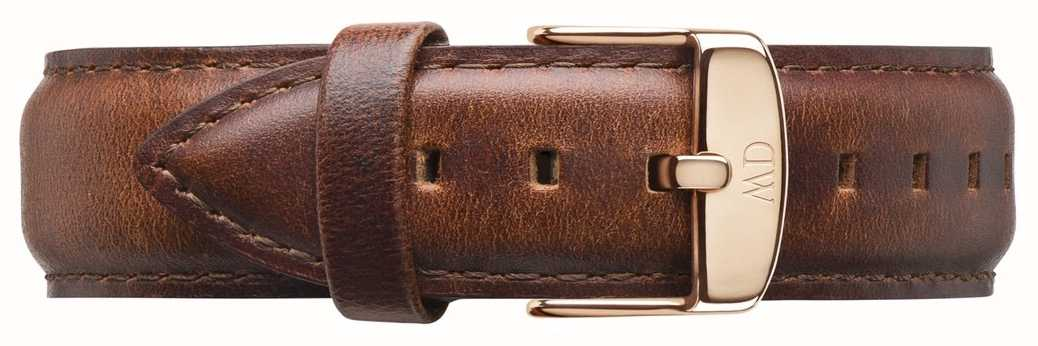 Daniel Wellington St Mawes Brown Leather Strap Only DW00200006