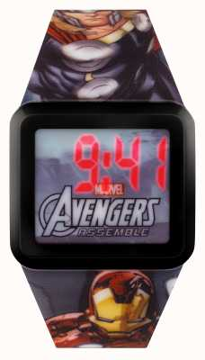 Avengers Childrens Digital Superhero Watch AVG3522