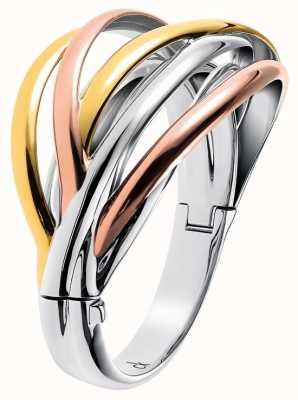 Calvin Klein Crisp Three Tone Bangle KJ1RDD30010S