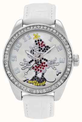 Disney By Ingersoll Ladies Classic Diamante Minnie Mouse 25741
