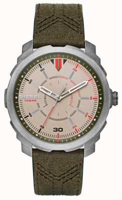 Diesel Mens Machinus Green Strap DZ1735