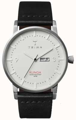 Triwa Unisex Ivory Dial Leather Strap KLST101-CL010112