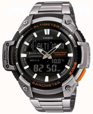 Casio Collection Twin Sensor Altimeter Barometer SGW-450HD-1BER