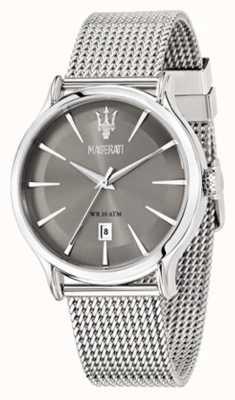 Maserati Epoca 42mm Gray Dial | Steel Mesh Bracelet | R8853118002