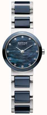 Bering Womens Ceramic Blue Dial Blue Strap 10729-787