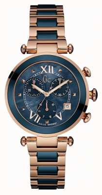 Gc Womens Gc Ladychic Rose Gold PVD Plated Y05009M7