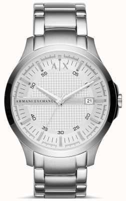Armani Exchange Mens Silver Bracelet Watch AX2177