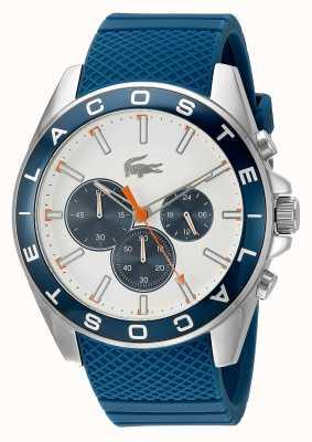 Lacoste Men's Westport Blue Strap Chronograph Watch 2010854