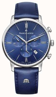 Maurice Lacroix Mens Eliros Stainless Steel Saphire Crystal Anti Reflect EL1098-SS001-410-1