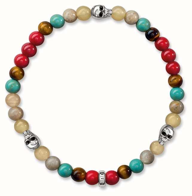 Thomas Sabo bracelet multicoloured A1511-883-7-L15,5 Thomas Sabo