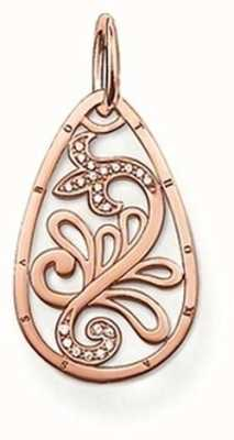 Thomas Sabo Womans Rose Gold Plated Pendant PE541-416-14