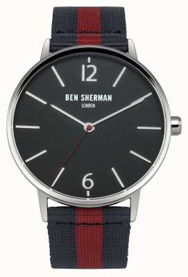 Ben Sherman Men's Navy And Red Strap WB044UA