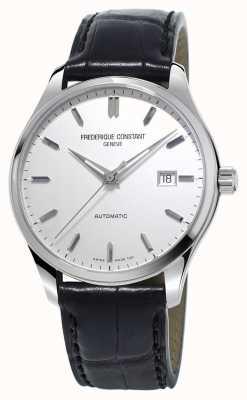 Frederique Constant Mens Classics Index Automatic Black Leather Strap FC-303S5B6