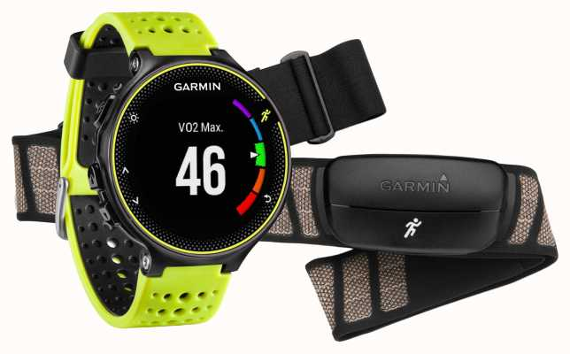 Garmin Unisex Forerunner 230 Premium With Heart Rate Monitor 010-03717-53