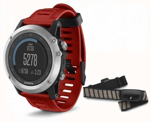 Garmin Unisex Fenix 3 Silver Performance Bundle 010-01338-16
