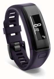 Garmin Unisex Vivosmart HR Purple (Wrist Based Heart Rate Monitor) 010-01955-01