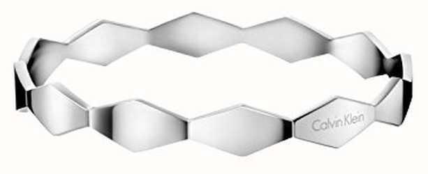Calvin Klein Womens Snake Stainless Steel Bangle KJ5DMD00010S