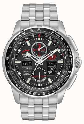 Citizen Mens Skyhawk A.T Radio Controlled Stainless Steel JY8050-51E