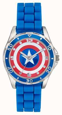 Avengers Childrens Captain America Shield Blue Strap CTA3138