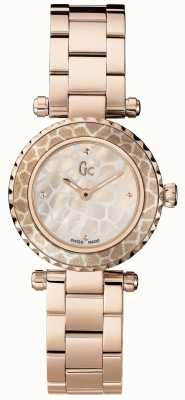 Gc Womens Mini Chic Rose Gold PVD Plated X70043L1S