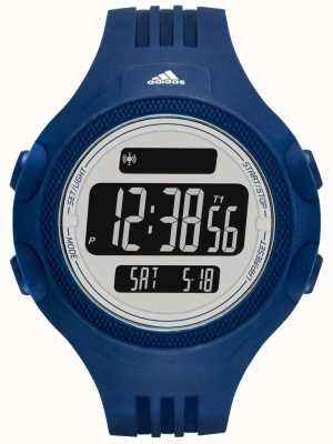 adidas Performance Mens Blue Rubber Strap Digital Dial ADP3266