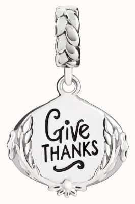 Chamilia Sterling Silver Give Thanks 2020-0931