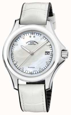 Muhle Glashutte ProMare Lady Synthetic Band Mop Dial M1-42-25-NB