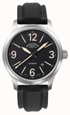 Muhle Glashutte New Terranaut II Trail (stainless steel) Synthetic Band Black  Dial M1-40-34/1-NB