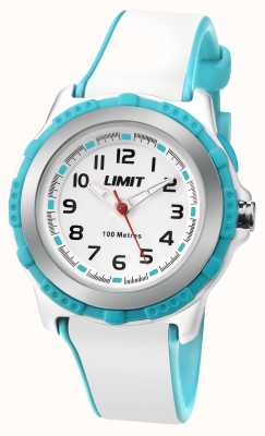 Limit Kids Active White Resin Strap White Dial 5596.24