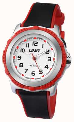 Limit Childs Active Black Resin Strap White Dial 5598.24