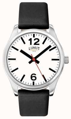 Limit Mens Black Strap White Dial 5626.01