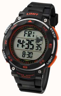 Limit Mens Sport Watch Black Strap 5485.01