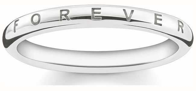 Thomas Sabo Sterling Silver Forever Ring 56 TR2125-001-12-56
