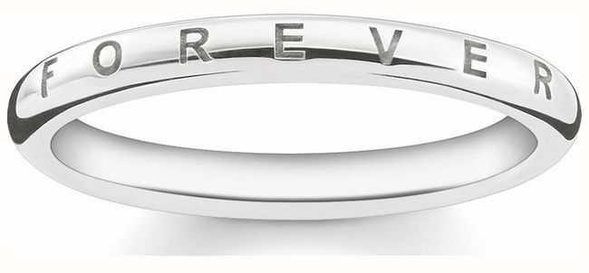 Thomas Sabo Sterling Silver Ring 54 TR2125-001-12-54