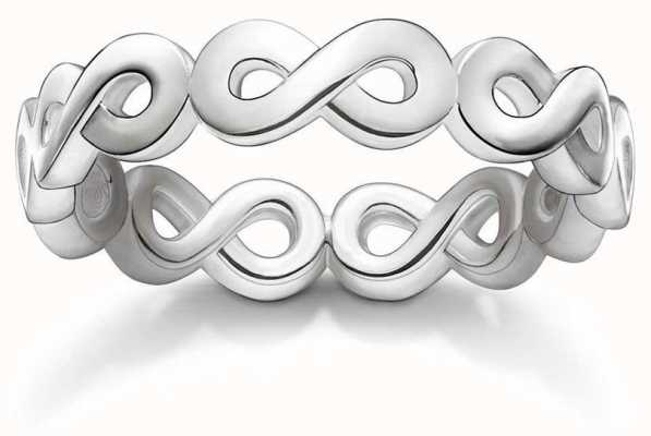 Thomas Sabo Sterling Silver Infinity Ring 54 TR2124-001-12-54