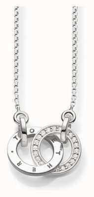 Thomas Sabo Sterling Silver Necklace KE0005-725-14-L45V