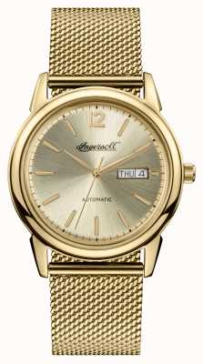 Ingersoll Mens 1892 The New Haven Automatic Gold Dial I00506