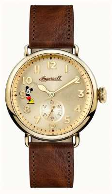 Ingersoll Mens Union The Trenton Disney Limited Edition Brown Leather ID01201