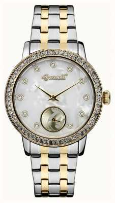 Disney By Ingersoll Womens Union The Disney Two Tone Mother Of Pearl Dial ID00801