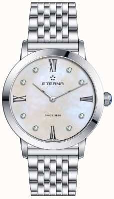 Eterna Womans Eternity Diamond Quartz Pearl Dial 2720.41.66.1738