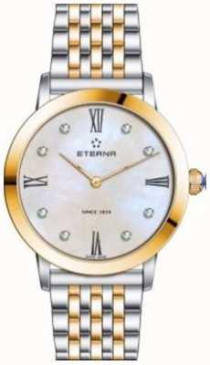 Eterna Womens Eternity Bracelet Two Tone Watch 2720.53.69.1739