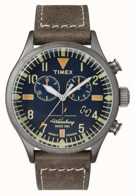 Timex Mens The Waterbury Chronograph Navy Dial TW2P84100