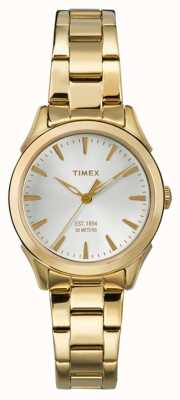 Timex Womans Chesapeake Gold Tone Strap TW2P81800