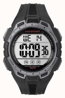 Timex Mens Iron Man Marathon Alarm Grey Black TW5K94600
