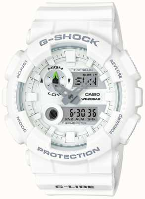 Casio Mens G-Lide White Resin GAX-100A-7AER